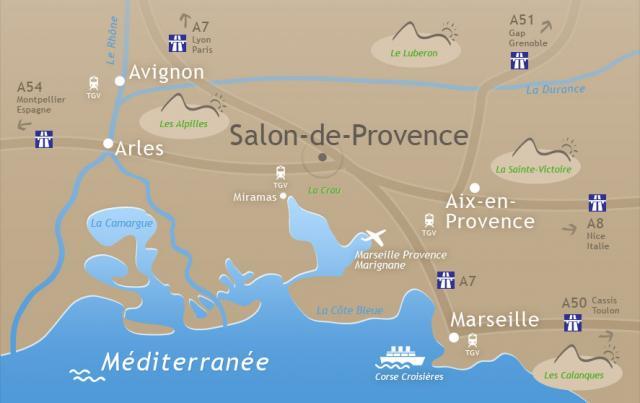 Organisez vos seminaires a salon de provence a n for Transport en commun salon de provence